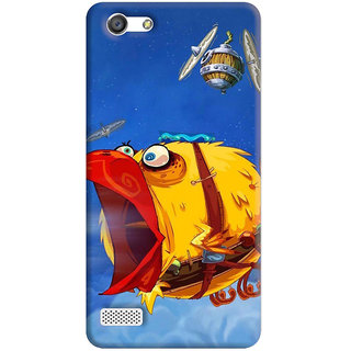 FurnishFantasy Back Cover for Oppo A33 - Design ID - 0373