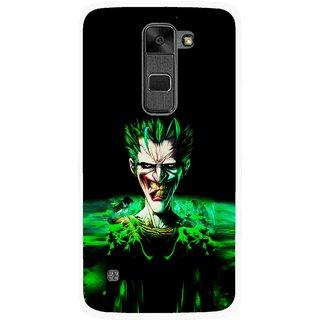 Snooky Printed Daring Joker Mobile Back Cover For Lg Stylus 2 - Multi