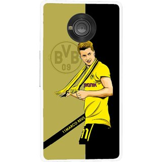 Snooky Printed Sports Player Mobile Back Cover For Micromax Yu Yuphoria - Multicolour