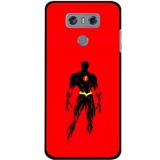 Snooky Printed Electric Man Mobile Back Cover For LG G6 - Multi