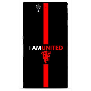Snooky Printed United Mobile Back Cover For Sony Xperia Z - Multicolour