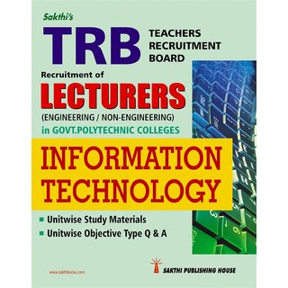 Trb-Lecturers Information Technology (Govt polytechnic colleges)