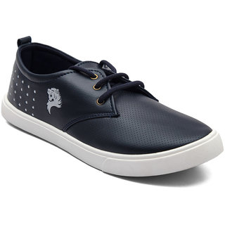 Asian Mens Navy Sneakers