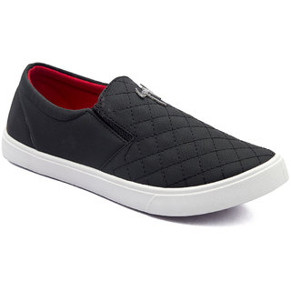Asian Mens Black Sneakers
