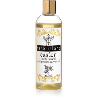 herb Island Cold pressed castor oil Hair Oil 200ML