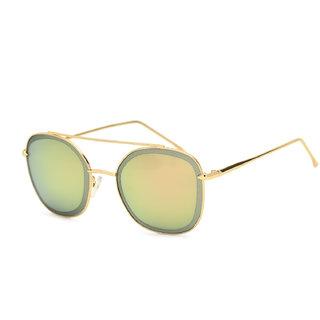 Royal Son Premium Women Sunglasses (HI000558Red /Yellow Mirrored Lens)