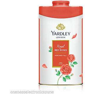 Yardley London Royal Red Roses Perfumed Talcum Powder 250G 8.8oz MADE IN ENGLAND