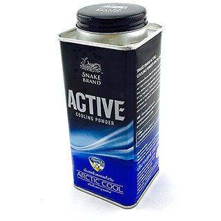 Snake brand Active Cooling Powder Daily Fresh