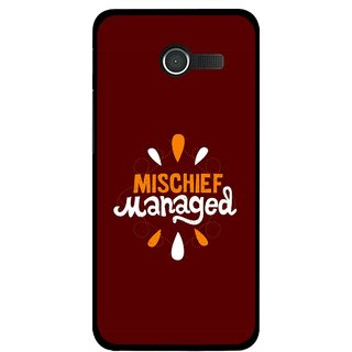 Snooky Printed Mischief Mobile Back Cover For Asus Zenfone 4 - Multicolour