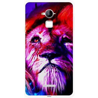 Snooky Printed Freaky Lion Mobile Back Cover For Coolpad Note 3 - Multi