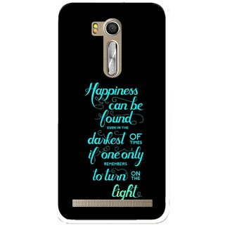 Snooky Printed Everywhere Happiness Mobile Back Cover For Asus Zenfone Go ZB551KL - Multi
