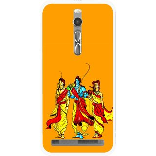 Snooky Printed God Rama Mobile Back Cover For Asus Zenfone 2 - Multi