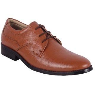 ShoeAdda Men Genuine Leather Lace Up Shoe 1301