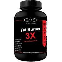 Sinew Nutrition Natural Fat Burner 3X (Green Tea, Green