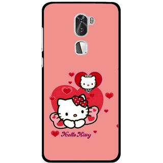 Snooky Printed Pinky Kitty Mobile Back Cover For Coolpad Cool 1 - Multi