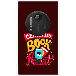 Snooky Printed Reads Books Mobile Back Cover For Nokia Lumia 1020 - Multi