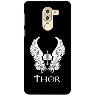 Snooky Printed The Thor Mobile Back Cover For Huawei Honor 6X - Multi