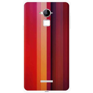 Snooky Printed Colorfull Stripes Mobile Back Cover For Coolpad Note 3 - Multi