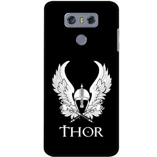 Snooky Printed The Thor Mobile Back Cover For LG G6 - Multi