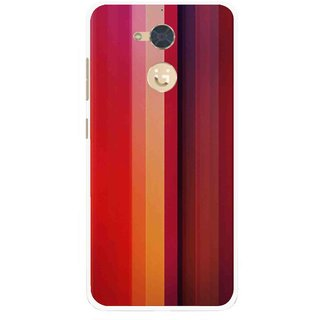 Snooky Printed Colorfull Stripes Mobile Back Cover For Gionee S6 Pro - Multi