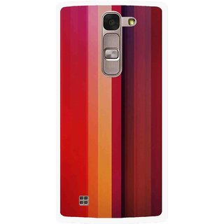 Snooky Printed Colorfull Stripes Mobile Back Cover For Lg Magna - Multi
