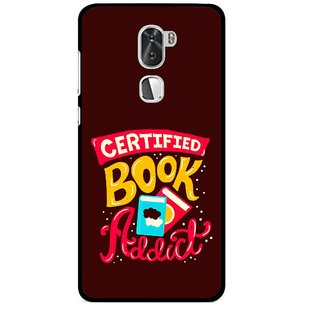 Snooky Printed Reads Books Mobile Back Cover For Coolpad Cool 1 - Multi