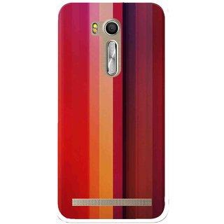Snooky Printed Colorfull Stripes Mobile Back Cover For Asus Zenfone Go ZB551KL - Multi