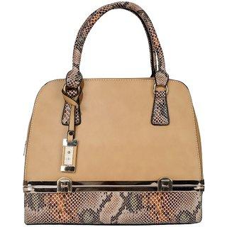 Old Tree Cream Plain Handbag