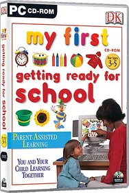 My First Getting Ready For School (DK)