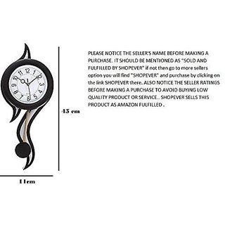 N.K. Enterprises- President 6007 Analog Wall Clock Black