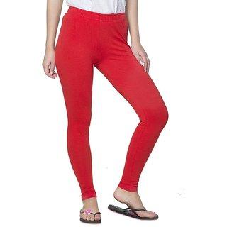 Seicho Pure Cotton Leggings (Red)