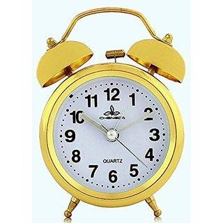 N.K. Enterprises-Chengdu8819Gold Alarm Table Clock