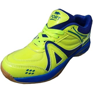 Port Mens Green Spectrum Running Shoes