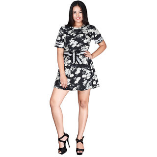yaya printed dress for women