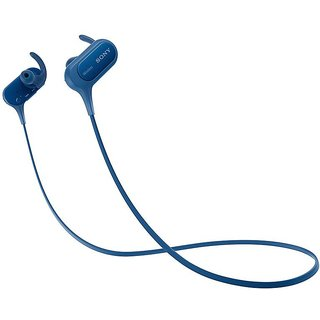 Sony Mdr Xb50BS Headphone - Blue
