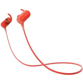 Sony Mdr Xb50BS Headphone - RED