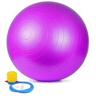 Anti Burst Fitness Gym Ball With Foot Pump/ Yoga Ball For Home, Office, Gym
