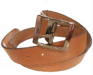 Port Belt B001t Standard Port Brown Casual Leather Belt