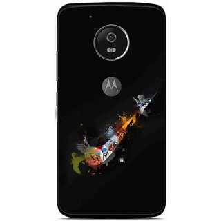 Snooky Printed All is Right Mobile Back Cover For Moto G5 - Multi
