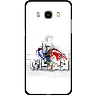 Snooky Printed Messi Mobile Back Cover For Samsung Galaxy J5 (2016) - Multicolour