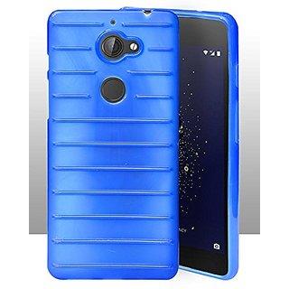 ECellStreet Protection Brick Soft Back Cover For Tenor 10 Or E / 10.Or E / Tenor E - Blue
