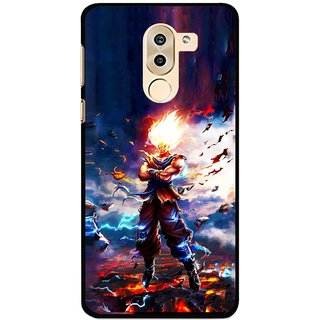 Snooky Printed In Anger Mobile Back Cover For Huawei Honor 6X - Multi