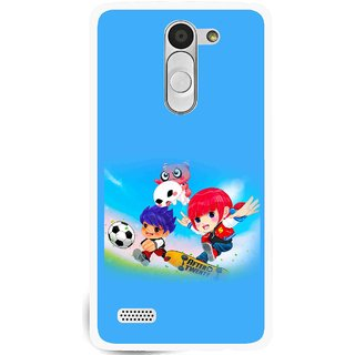 Snooky Printed Childhood Mobile Back Cover For Lg L Fino - Multi
