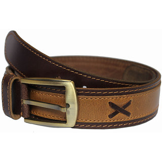 Rags Style Brown Leather Belt