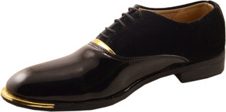 Dolly Shoe Company Men's Black Formal Lace-up Shoes