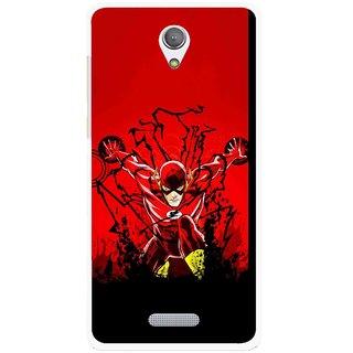Snooky Printed Super Hero Mobile Back Cover For Gionee Marathon M4 - Multicolour