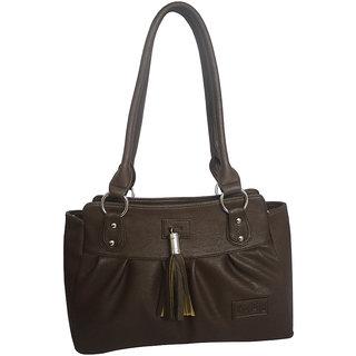 Rags Style PU Brown Women Shoulder Bag