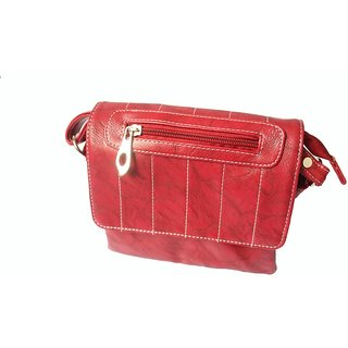 Rags Style Red Women Sling Bag