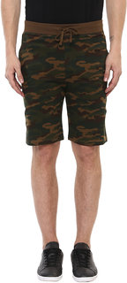 Urbano Fashion Men's Olive,Green Shorts