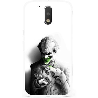 Snooky Printed Wilian Mobile Back Cover For Moto G4 Plus - Multi